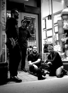 From left: Brian Erickson (lead vocals/guitar), Scott Austin Miller (bass/vocals), Frank Lettieri Jr. (drums/vocals), and Michael James Virok (lead guitar).